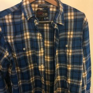 Old Navy Classic Fit Vintage Flannel Size L